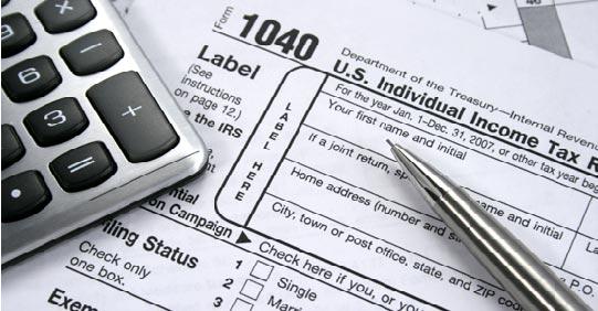 tax page header