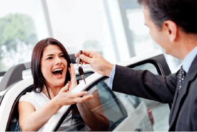 car sales person